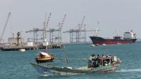 جماعة الحوثي تتهم التحالف باحتجاز 9 سفن في المياه اليمنية