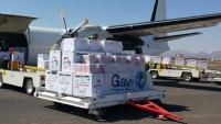 يونيسف تعلن وصول 4.5 أطنان من لقاحات شلل الأطفال إلى مطار صنعاء