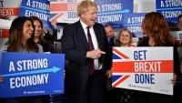 جونسون يتعهد بالخروج من الاتحاد الأوروبي ووضع قوانين جديدة للهجرة