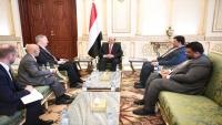 واشنطن تؤكد دعمها للحكومة الشرعية في اليمن