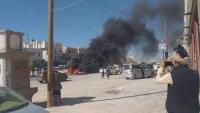 شبوة.. العشرات من جنود الأمن يتظاهرون للمطالبة بصرف رواتبهم