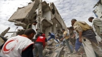 جماعة الحوثي تتهم التحالف بقتل وجرح 43 ألف مدني