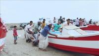 """""""تيكا"""" التركية تقدم 17 قاربا مجهزة لدعم صيادين بعدن"""