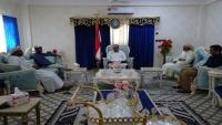 الميسري يبحث مع محافظ سقطرى مشاكل الأرخبيل واحتياجاته