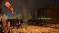 قلب بيروت يحترق.. وعون يطالب الجيش بفرض الأمن