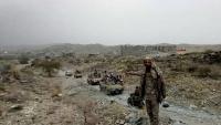 مصدر عسكري: مصرع عناصر من جماعة الحوثي في جبهة قانية