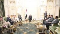 مباحثات يمنية أمريكية بشأن التدخلات الإيرانية في المنطقة