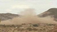 إصابة مواطن بقصف حوثي استهدف مزرعة بالضالع