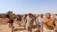 مقتل خمسة من مرافقي وزير الدفاع بجبهة صرواح غربي مأرب