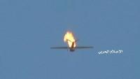الحوثيون يعلنون إسقاط طائرة تجسسية للتحالف في جيزان