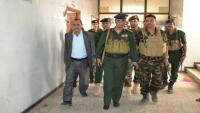 مدير عام شرطة تعز يتفقد سير العمل في المنشآت الأمنية