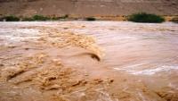 وفاة فتاة ونجاة عائلتها من مياه السيول بحضرموت