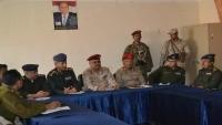 تدشين المرحلة الثانية من التنسيق الأمني بين الجيش وقوات الأمن في تعز