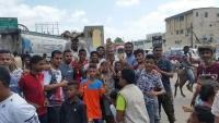 تظاهرة في عدن احتجاجاً على انقطاع المياه