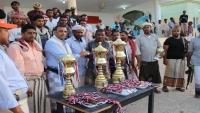 اختتام بطولة رئيس الجمهورية لكرة القدم في سقطرى