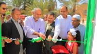 إنجاز مشروع تكميلي للصرف الصحي في سيئون