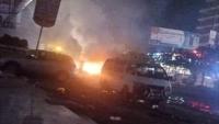 مواطنون غاضبون يقطعون شوارع رئيسية في عدن احتجاجا على تردي خدمة الكهرباء