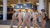 """مليشيات """"الانتقالي"""" ترفض تسليم الأسلحة في اللواء الأول مشاة بحري بسقطرى"""