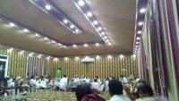اجتماع لمشايخ المهرة وسقطرى لمناقشة تداعيات تمرد المجلس الانتقالي