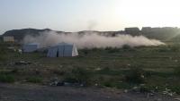 جماعة الحوثي تقصف نقطة طبية لمكافحة كورونا في قانية بالبيضاء