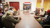"""مشايخ """"مركز قعرة"""" في سقطرى يؤكدون رفضهملأي خطوات تخل بأمن الأرخبيل"""