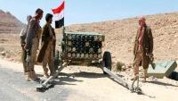 مقتل العشرات من عناصر الحوثي في نهم والجيش يدمر ثلاث عربات و6 أطقم قتالية