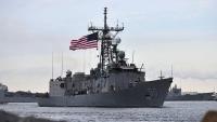 وكالة: البحرية الأمريكية تضبط سفينة على متنها أسلحة قبالة سواحل حضرموت