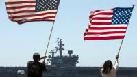 """واشنطن قالت إنها لدعم """"محيط هندي هادئ حر ومفتوح"""".. مناورات أميركية في بحر جنوب الصين"""