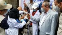 تعز.. مكتب الصحة يطلق حملة لتطعيم أكثر من 6 آلاف طفل ضد الدفتيريا