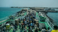 وصول 76 يمنيا من العالقين في جيبوتي إلى باب المندب عبر البحر