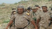 نقاط عسكرية تعترض موكب قائد اللواء 35 مدرع العميد الشمساني جنوبي تعز