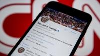 مرة أخرى.. تويتر يحذف تغريدة لترامب لانتهاكها حقوق الملكية