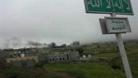 تعز.. عناصر متمردة في اللواء 35 مدرع تقصف الأحياء السكنية في التربة