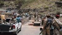 تجدد الاشتباكات بين الجيش الوطني ومتمردين تدعمهم الإمارات في تعز