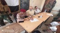 الشمساني يتسلم رسميا مهام اللواء 35 مدرع