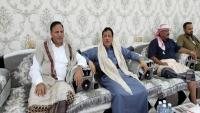 محافظ المهرة يستقبل نائب رئيس البرلمان عبد العزيز جباري ووزير النقل