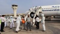 الحكومة تعلن إجلاء 18 ألفا من اليمنيين العالقين في الخارج جراء كورونا