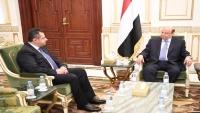 هادي يكلف معين عبد الملك بتشكيل حكومة جديدة