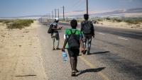 الهجرة الدولية: 7 آلاف مهاجر أفريقي وصلوا اليمن خلال النصف الأول من العام الجاري