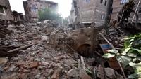 """صنعاء.. انهيار منزل شاعر اليمن الكبير """"عبد الله البردوني"""" جراء سيول الأمطار"""