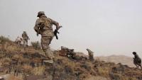 مقتل وإصابة العشرات من عناصر الحوثي بمواجهات مع الجيش بقيفة في البيضاء