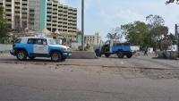 دورية أمنية في عدن تتعرض لهجوم مسلح من قبل مجهولين وإصابة جندي