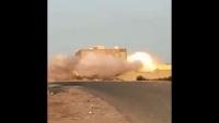 القاعدة تفجر مركزا طبيا في مديرية الصومعة بالبيضاء (فيديو)