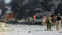 """في الذكرى الأولى لقصف الإمارات للجيش .. يمنيون: لن ننسَ غدر """"بن زايد"""""""
