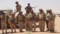 """الجوف.. الجيش اليمني يحرر كافة مواقع منطقة """"الشهلا"""" شرقي الحزم"""