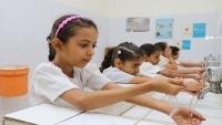 """""""يونيسف"""" تعيد تأهيل مرافق المياه في 120 مدرسة باليمن"""