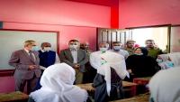 وزير التربية يدشن العام الدراسي الجديد في عموم مدارس عدن