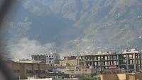 مقتل مدني وإصابة آخر بقصف حوثي استهدف أحياء سكنية بتعز
