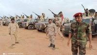 """""""مليشيا الانتقالي"""" تنظم عرضا عسكريا في سقطرى"""
