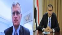 المبعوث السويدي يؤكد دعم بلاده للجهود الأممية لحل الأزمة اليمنية